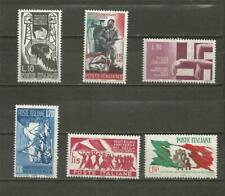 ITALY  -1965 The 20th Anniversary of the Italian Resistance Movement - MUH SET.