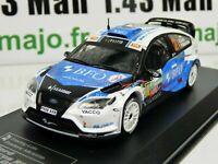 RD25B 1/43 IXO Direkt Rallye Ford FOcus RS WRC 08 Belgium F.LOIX / F.MICHOTTE #2
