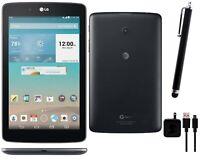LG G Pad 7-inch 16GB Black Wi-Fi +4G AT&T (V410) - Bundle Includes Stylus Pen!