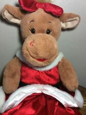 Build A Bear Reindeer Plays Jingle Bell Rock Deer Stuffed Plush Christmas