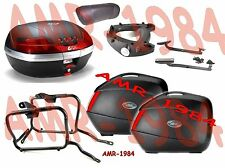 SUZUKI GSF 1250 BANDIT 07 KIT 3 VALIGIE V35 + V46 + TELAIO PLX539 + 539FZ + E95S