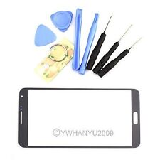 Black Replacement Front Screen Glass Lens+Tools for Samsung Galaxy Note 3 N9005
