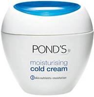 Pond's Moisturizing Cold Cream - Winter Care Face Skin Soft Smooth Free Ship