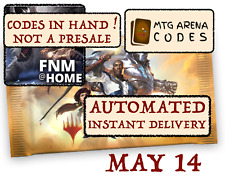 MAGIC MTG Arena code card FNM Home Promo Pack MAY 14 -INSTANT MAIL.