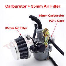 19mm Carburetor PZ19 Carb Air Filter Chinese 50 70 90 110 cc ATV Quad 4 Wheeler