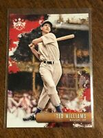 2019 Donruss Diamond Kings Baseball Base Card - Ted Williams - Boston Red Sox