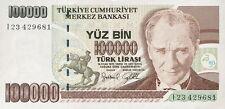 Türkei / Turkey 100.000 Lira 1970 (1997) Pick 206 (1)