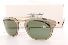 New Silhouette Sunglasses EXPLORER LINE EXTENSION 8690 6253 Gold/Green Unisex