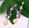 Betsey Johnson Alloy Rhinestone Enamel glaze fish drop Earrings Fashion Jewelry