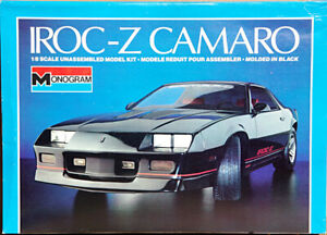 Monogram 1985 IROC-Z Camaro, 1/8 Scale