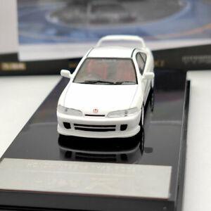 HOBBY 1/64 HONDA Integra Type-R DC2 Diecast Model Car Toys White Collection Gift