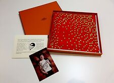 ULTRA RARE - COLLECTABLE - HERMES by JACKIE CHAN Limited Edition Silk Scarf