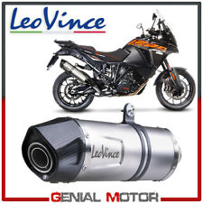 Exhaust Leovince Lv One Evo Steel Ktm 1290 Super Adventure R/S/T 2017 > 2019