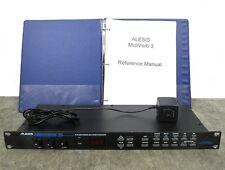 Alesis Midi Verb III Multi-Effects Processor w/ Power Supply & Manual MidiVerb
