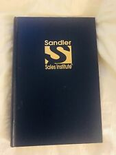 David H Sandler 7 STEP FORMULA FOR SALES SUCCESS MANUAL Presidents Club Training