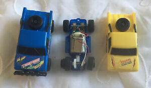 ARTIN 1/43 SCALE SLOT CAR BLUE TRUCK And Extra Parts