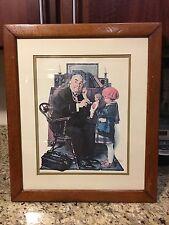 norman rockwell framed Art Print