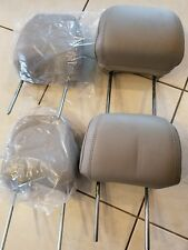 07 08 09 10 Ford Edge Front Back Seat Light Stone Head Rests
