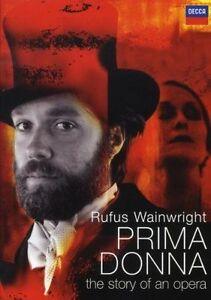 Rufus Wainwright - DVD - Prima Donna - DOCUMENTARY OPERA - RARE REGION FREE
