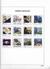2016 USED Caribisch Nederland year collection (7 scans)