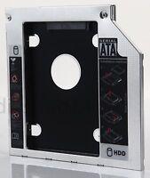 2nd HDD SSD Hard Drive Caddy for Asus F750 X550 X750 X750J K750J UJ8E2 DVD ODD