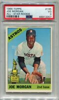 1966 Topps #195 Joe Morgan Houston Astros VG PSA 3