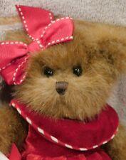 "Bearington Bears 10"" Christmas Lollipop Girl Collector's Bear, Great Gift!"