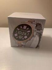 Michael Kors Access Lexington Rose Gold & Silver Smart Touchscreen Watch MKT5081