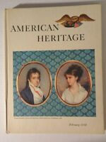 American Heritage Magazine February 1958 Features: Thomas Pinckney Vol. IX No. 2