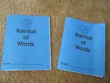 2 Kidship Associates Rainfall of Words Student Dictionary Wordbook Grade 2-4 ESL