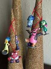 "Disney Christmas Ornament 6pc Set PVC ""Inside Out"""