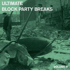 """Paul Nice : Ultimate Block Party Breaks - Volume 6 VINYL 12"""" Album (2018)"""