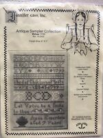 Vintage Cross Stitch Sampler - Antique Sampler Collection VirtueNo 15-203 Sealed