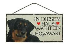 Hovawart Dogs Wooden Sign Door Sign Animal Sign Dog Wood Sign 9 13/16in