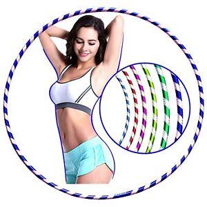 Multicolour Hula Hoop Children's Adult Fitness Activity Plastic Hoola Hoop