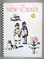 New Yorker Magazine - May 18, 1981 - FRONT COVER ONLY ~~ William Steig art