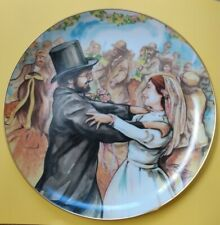 """""""The Wedding"""" Fiddler's People Series Plate By Rik Vig, Limited Edition"""