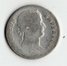 TRES RARE 1/2 FRANC NAPOLEON EMPEREUR ARGENT 1812 M ( TOULOUSE ) @ PETIT TIRAGE
