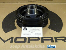 Engine Harmonic Balancer Jeep Grand Cherokee WH 3.0L 68056244AA Genuine Mopar