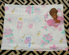 Vintage African American Ballerina Barbie Bed Room Valance window Curtain