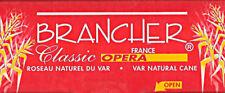 Brancher Classic Opera #4 Tenor Saxophone Reeds (Box of 4 Reeds) BRAND NEW