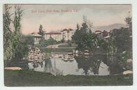 [71294] OLD POSTCARD PARK SCENE, HOTEL GREEN, PASADENA, CALIFORNIA