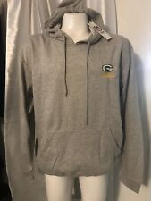 nwt DUNBROOKE NFL Team Apparel GREEN BAY PACKERS Fleece Pullover HOODIE L soft