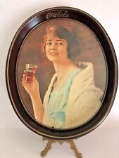 "Coco Cola ""Flapper Girl"" Serving Tin Tray"