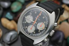 Vintage LANCO Chronograph Valjoux 7736 Stainless Steel Men's Sport Watch