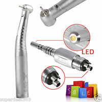 Dental Fiber Optic LED High Speed Handpiece fit KAVO Multiflex Lux Coupler 4Hole