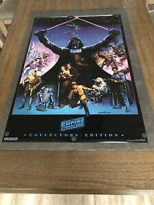 "NEW VINTAGE ORIGINAL 1994 STAR WARS THE EMPIRE STRIKES BACK WALL POSTER 32"" X 21"