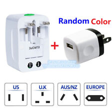 Universal Travel Adapter Wall Charger AU UK US EU AC Power Plug Converter PLUG