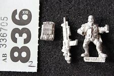 Games Workshop Necromunda Van Saar Heavy with Stubber Metal Figure WH40K OOP
