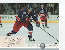2006-07 BAP PORTRAITS - RICK NASH  8 X 10  AUTOGRAPHED PHOTO